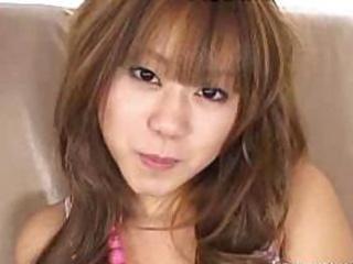 Yu aine enjoys giving her partner a deep throat blow job