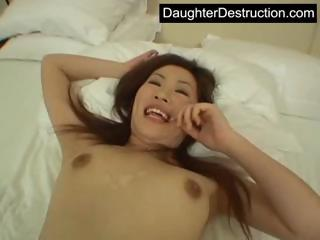 Daughter frowardness increased by pussy fucked eternal